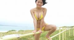 RaMuちゃんの黄色いビキニが眩しいぜ☆